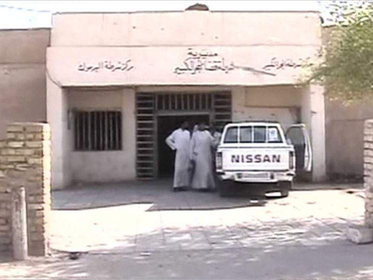 The police station ambush site of six Royal Military policemen