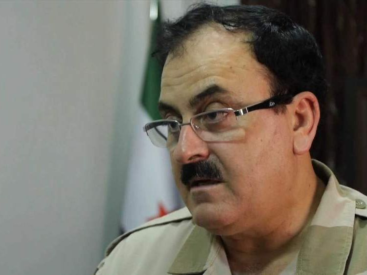 General Salim Idris, chairman Supreme Military Council Syria