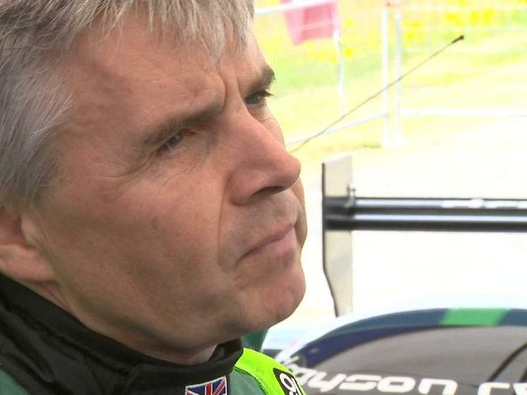 Lord Drayson prepares for his electric land speed record attempt