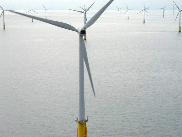 London Array wind farm in Margate, Kent