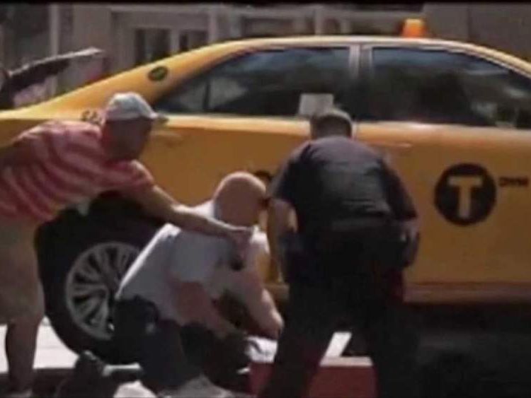 British tourist Sian Green 23 leg severed by New York taxi