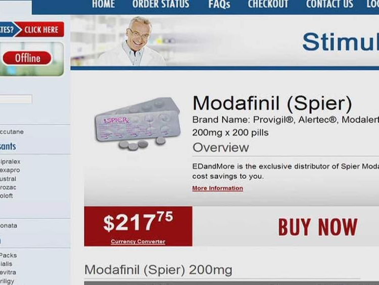 Modafinil website