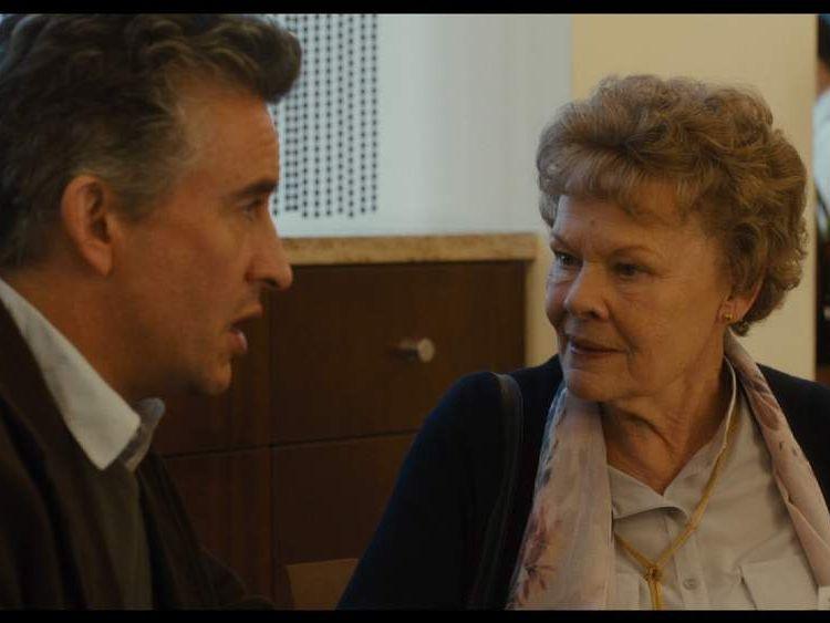 Steve Coogan and Dame Judi Dench in Philomena