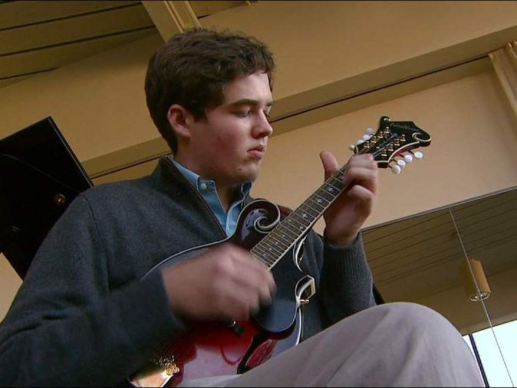 Colorado music teen Lachlan Connors (Pic: CBS)