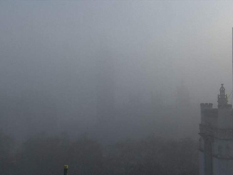 Houses of Parliament fog
