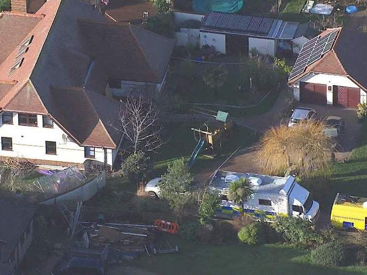 Bosham murder house