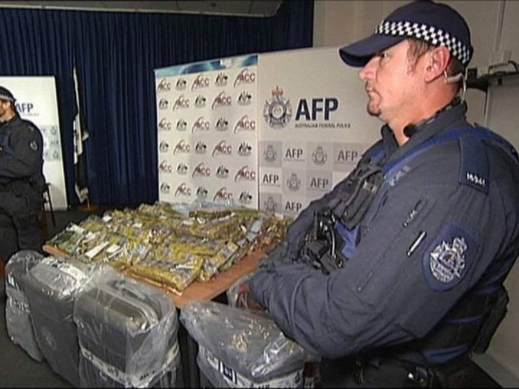Australia Cash seized from criminal money laundering operation
