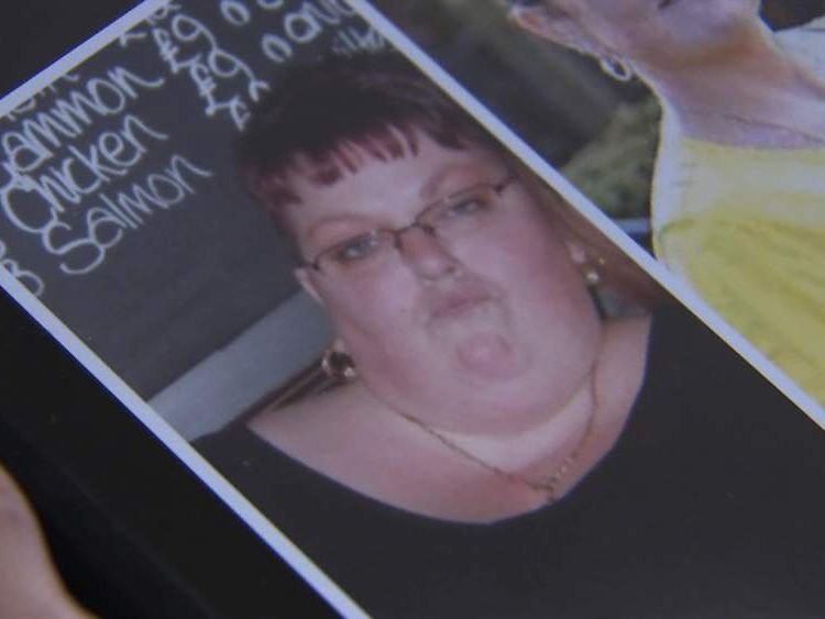 Kerry Trotter before she had a gastric bypass.