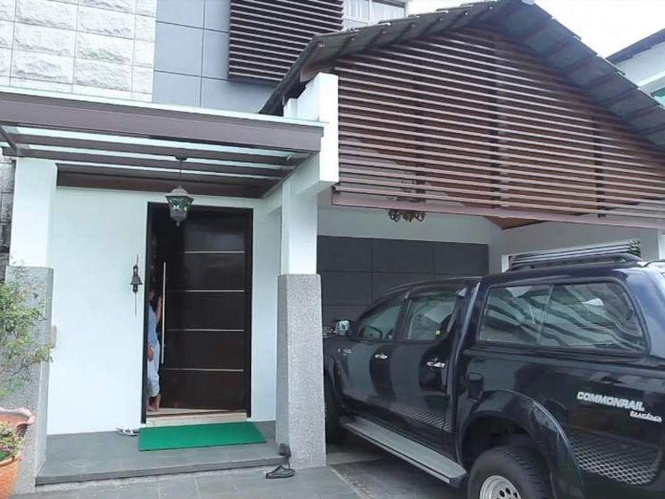 Pilot Zaharie Ahmad Shah's home