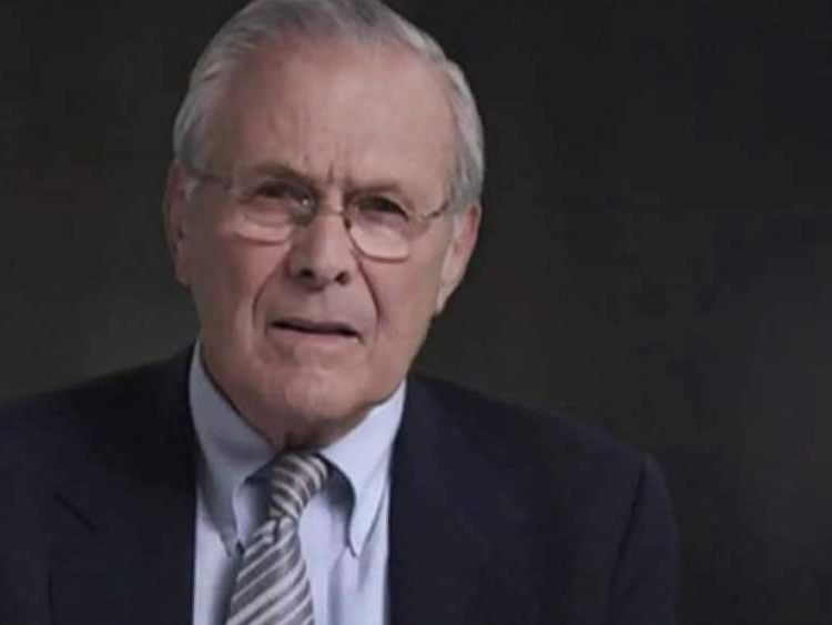Donald Rumsfeld Film