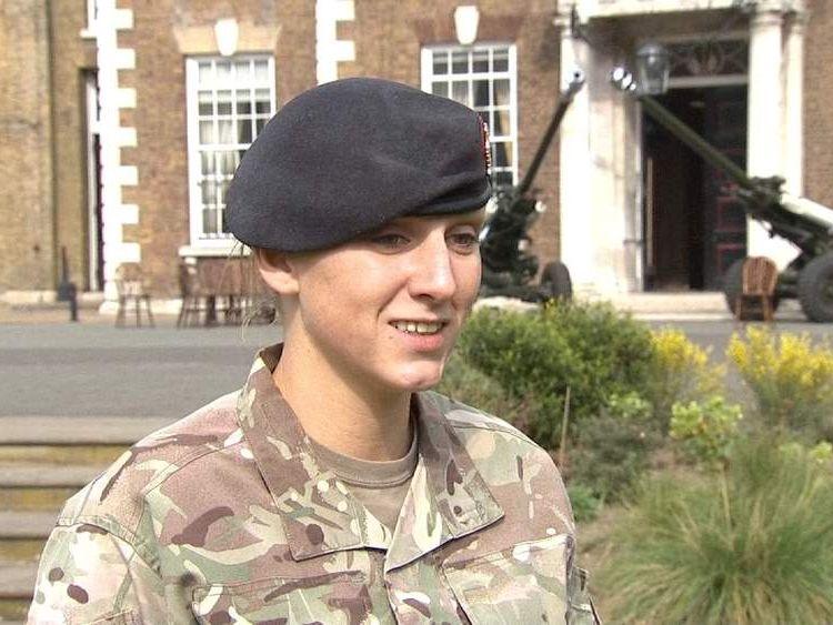 Lance Corporal Sinead Dodds.