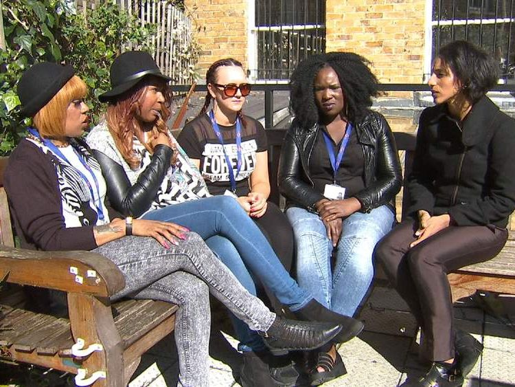 Former female gang members.