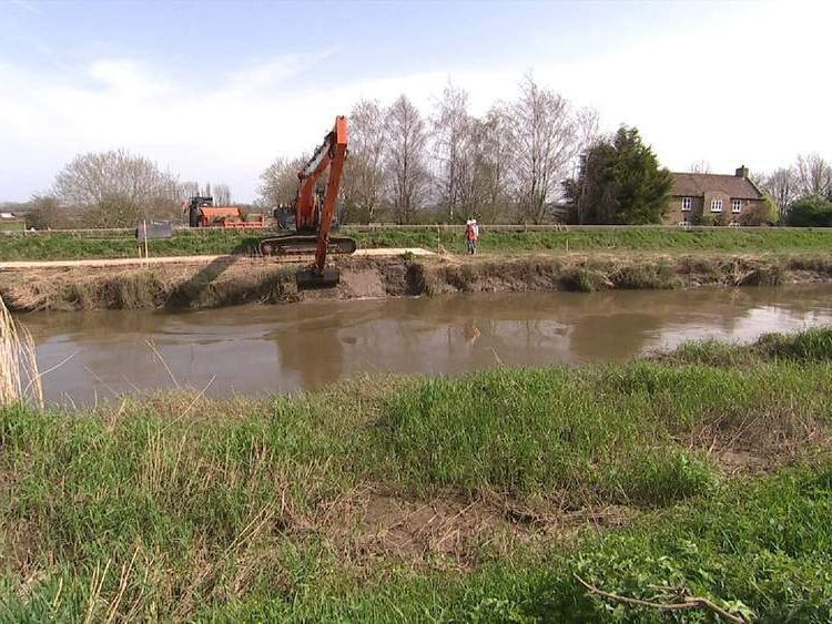 Final preparations are made so dredging can begin in Somerset.