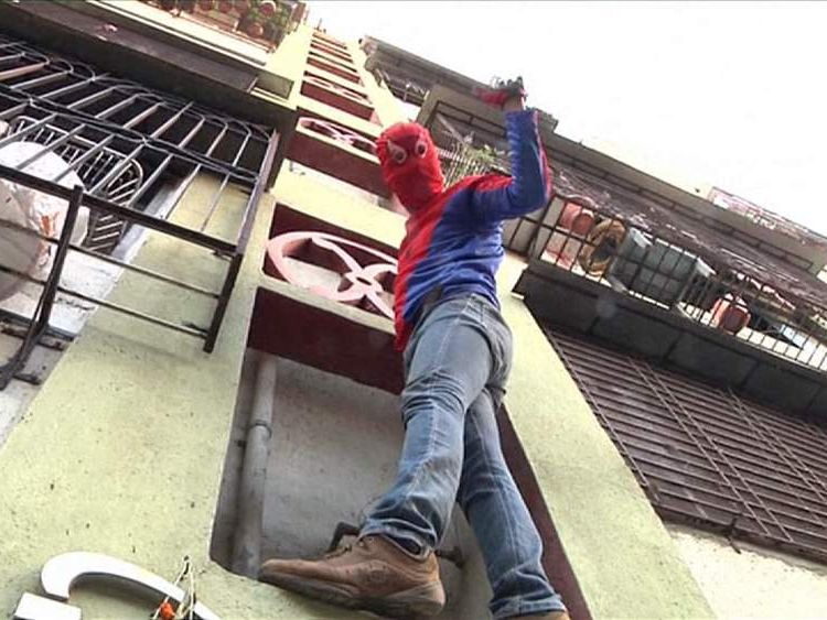Indian Spiderman Gaurav Sharma