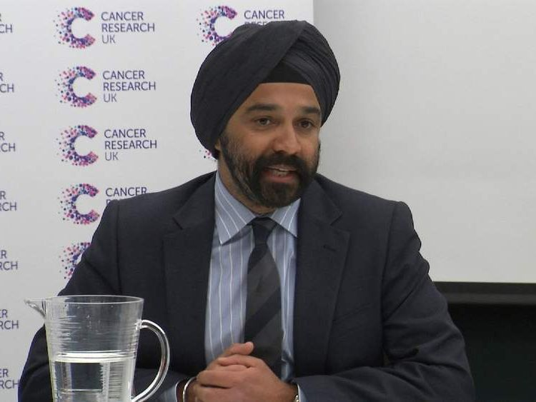 Dr Harpul Kumar, Chief Executive at Cancer Research UK.