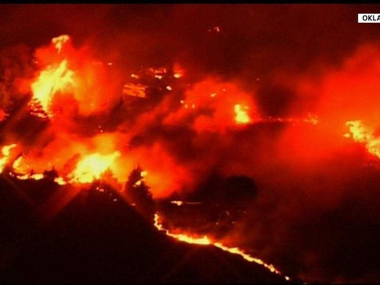 Oklahoma Wild Fires
