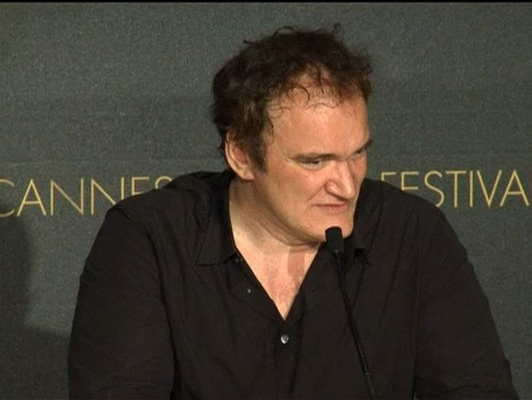 Quentin Tarantino at Cannes