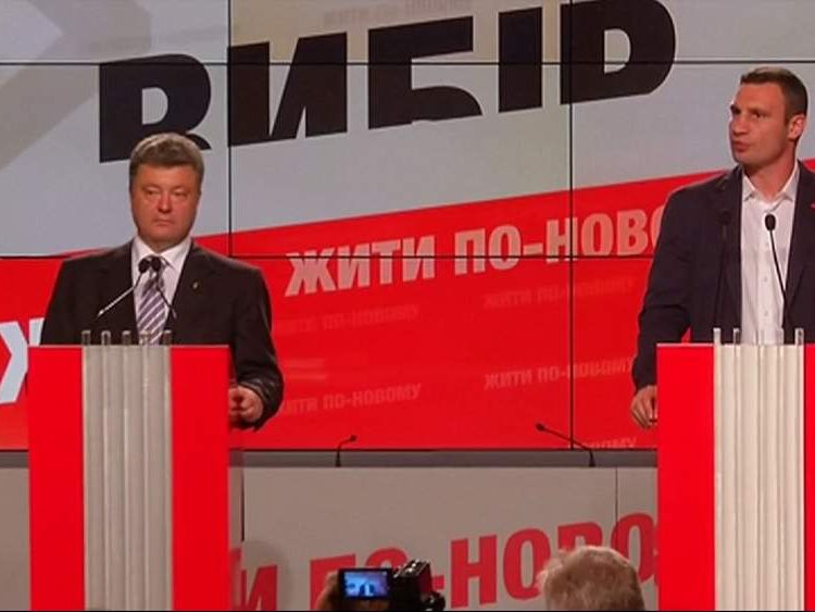 Ukraine election.