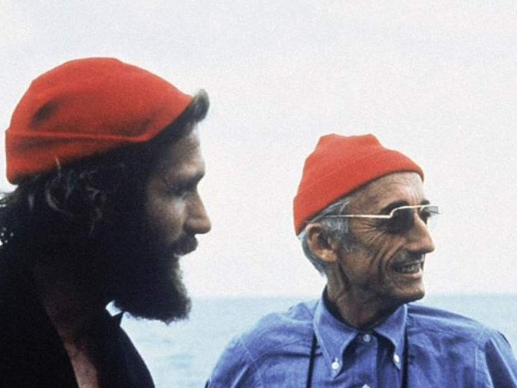 Fabien Cousteau with father Jacques