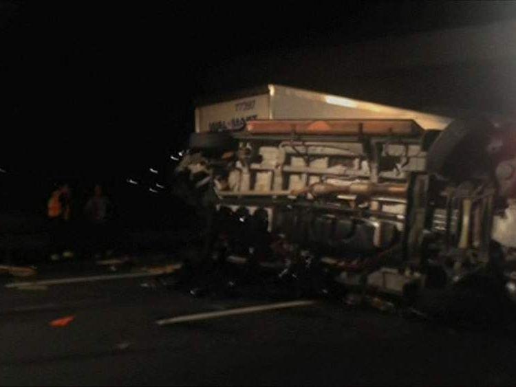 Tracy Morgan accident scene