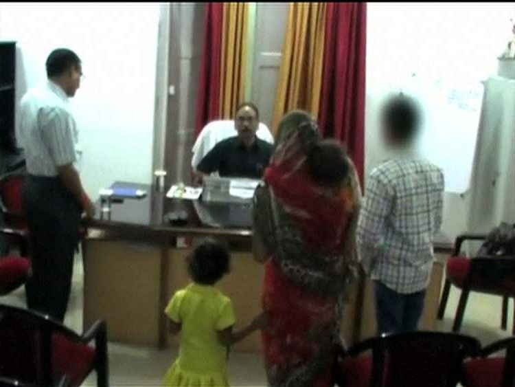 Woman claims to be raped by four police officers in India