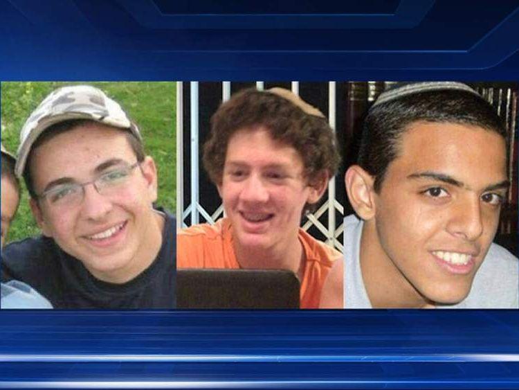 (L-R) Gilad Shaar, Naftali Frenkel, Eyal Yifrach