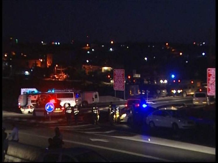 Israeli security forces close of roads after discovery of 3 bodies