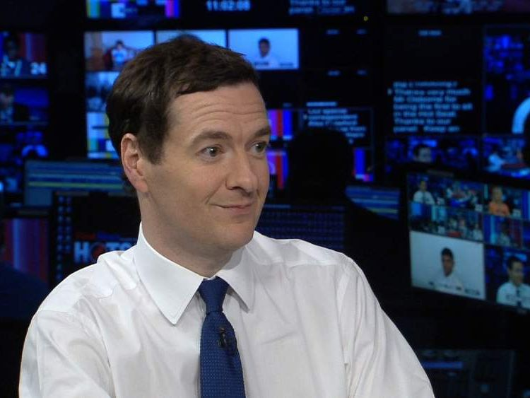 George Osborne and First News