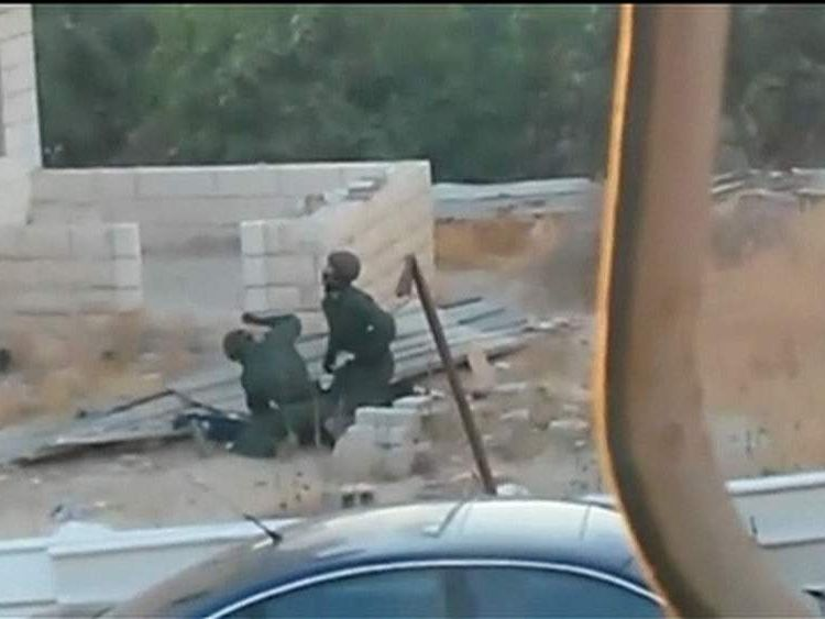 A video appears to show Israeli security forces beating a fifteen year old boy in Jerusalem