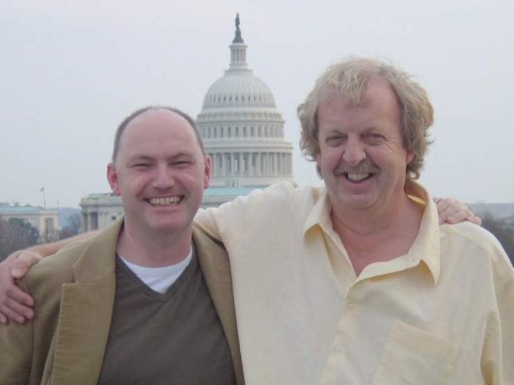 Ian Woods and Mick Deane in Washington DC