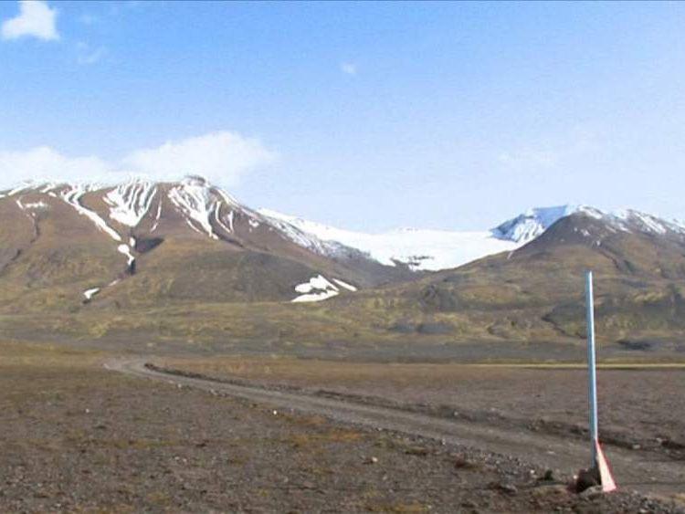 Bardarbunga Volcano in Iceland.