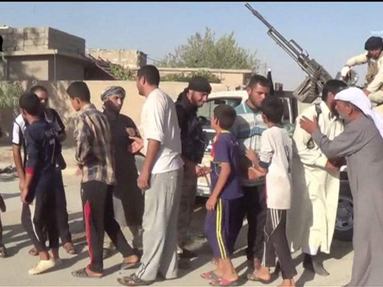 Video released by IS claiming to show Yazidis converting to Islam