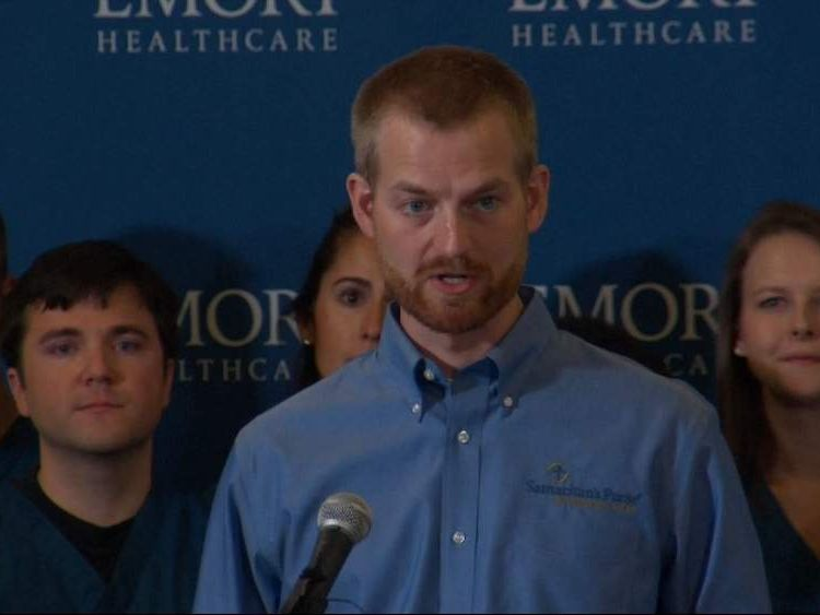 Kent Brantly speaks after recovering from Ebola