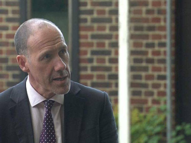 King Edward VI School headteacher Geoff Barton.