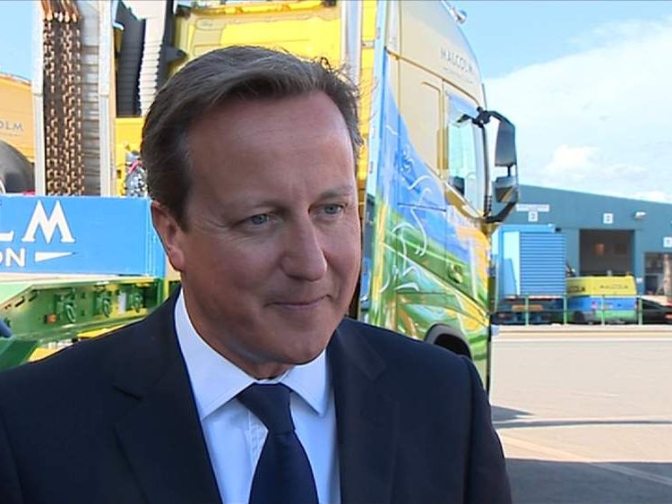 David Cameron on defection of Tory MP to UKIP