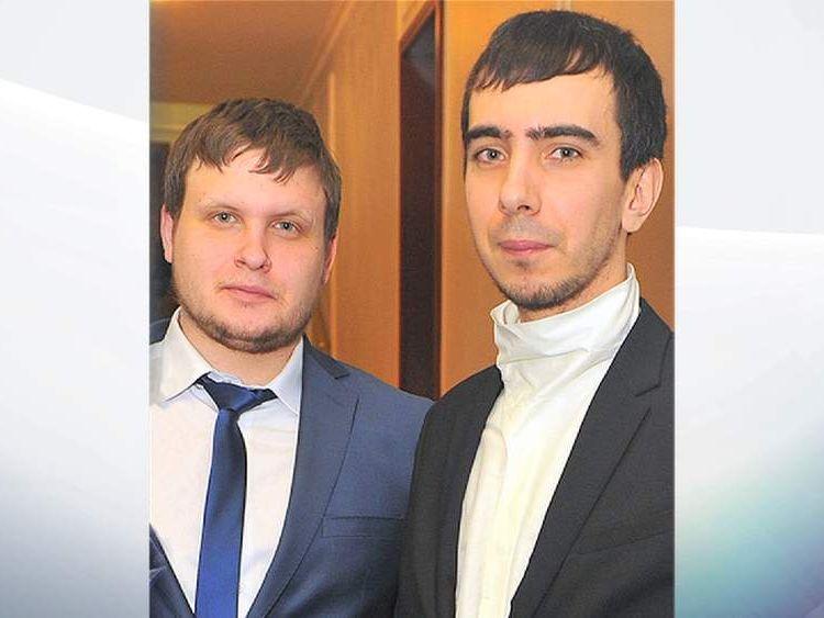 Alexei Stolyarov and Vladimir Krasnov