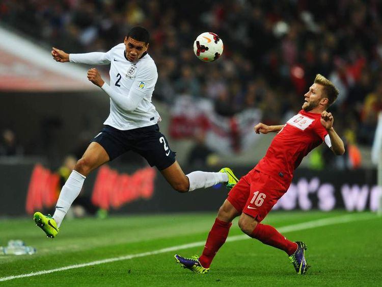 Chris Smalling England v Poland - FIFA 2014 World Cup Qualifier
