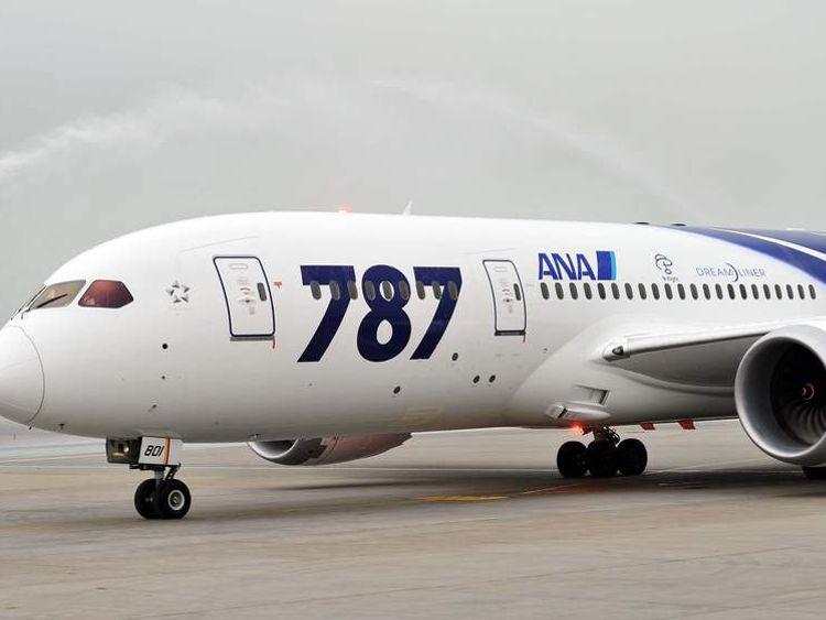 An All Nippon Airways Boeing 787 Dreamliner