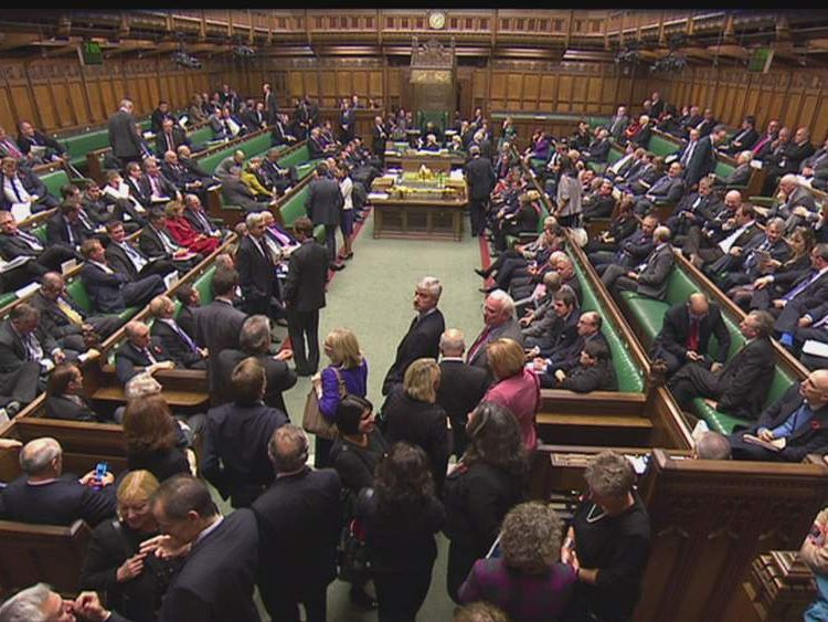 House of Commons.