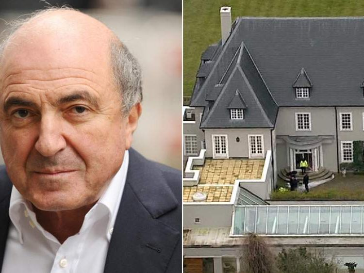 The Berkshire house where Boris Berezovsky was found dead