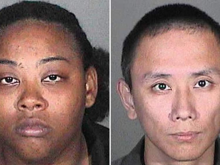 Lanisa Williams (L) allegedly sold the toys to Kai Chan (R)