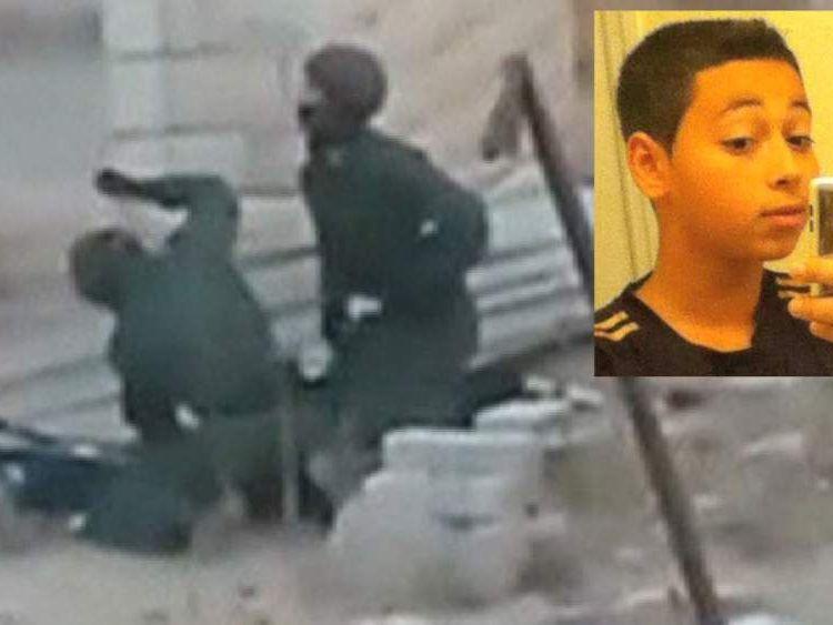 Tariq Abu Khadair allegedly beaten by Israeli police