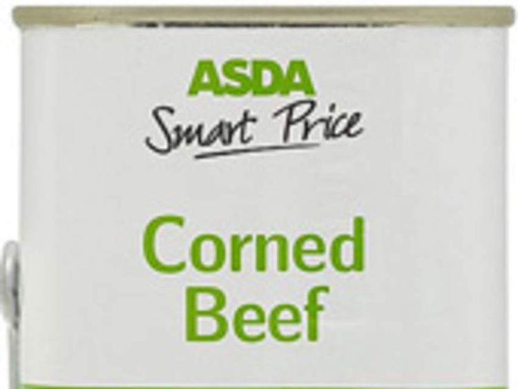Asda Corned Beef recalled after bute found