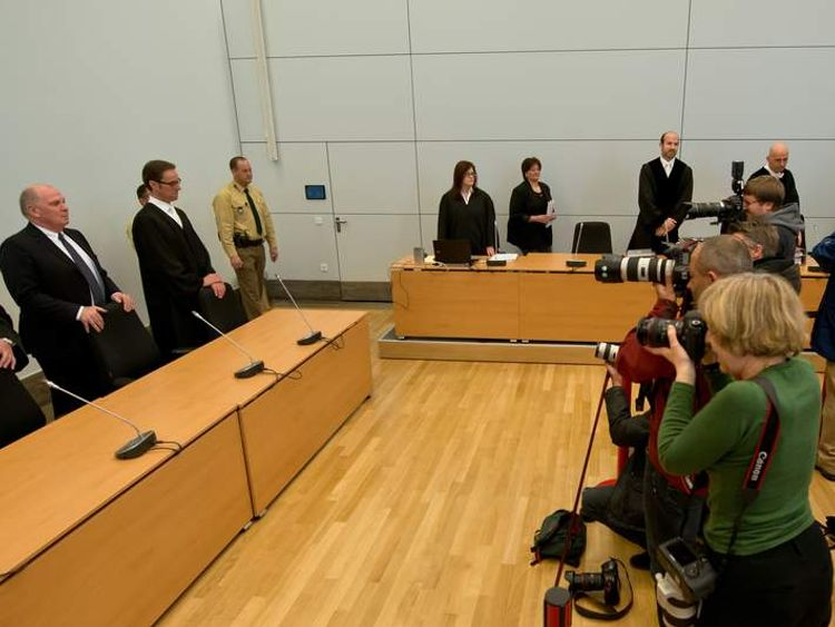 Ulrich Hoeness Appears In Court Accused Of Tax Evasion - Day 2
