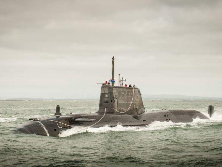 The British Navy's HMS Ambush