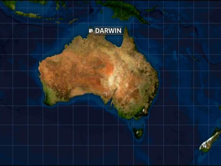 Weapons Raid on Australia Navy base in Darwin