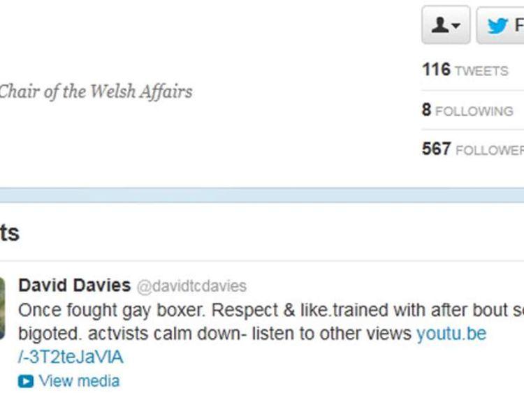 David Davies Tweet