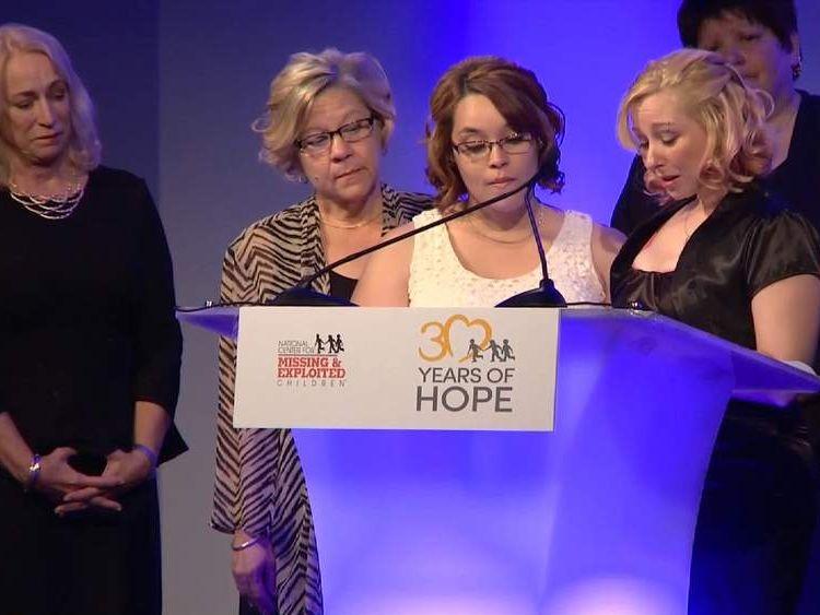 National Center for Missing and Exploited Children awards