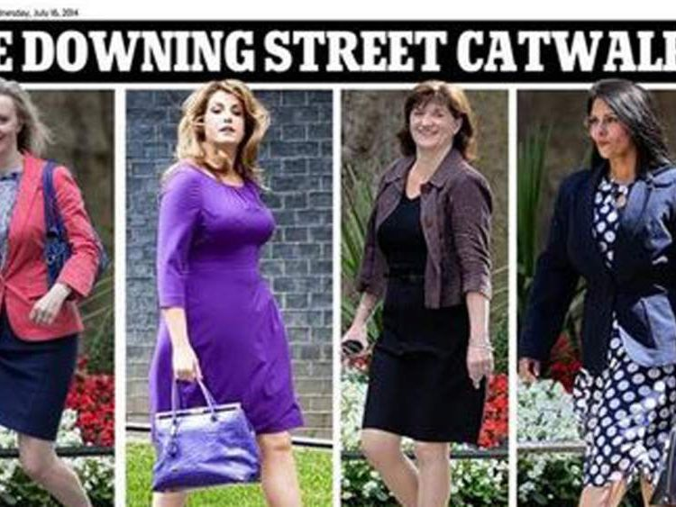 Downing Street catwalk