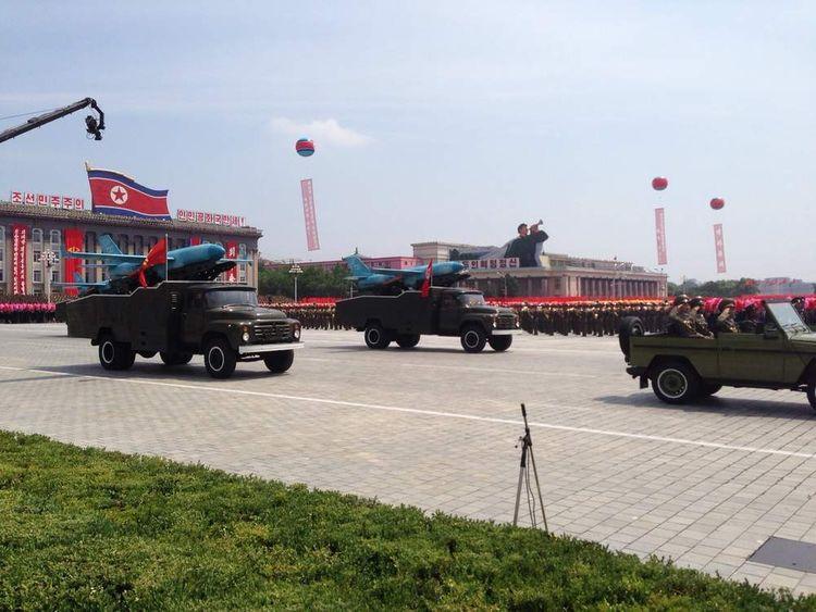 North Korean drones
